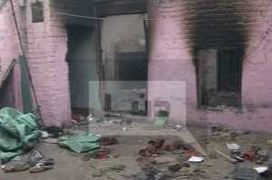 Christian House Burn
